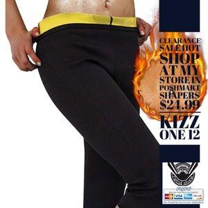 01075 Women's Sauna Slimming Pants Body Shapers